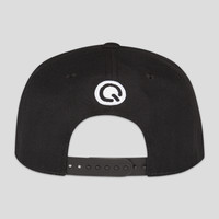 Q-dance snapback black/green