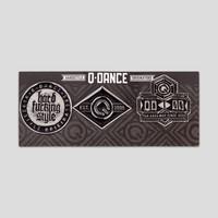 Q-dance pin buttons grey
