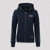 Impaqt hooded zip navy/white