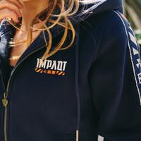 Impaqt hooded zip navy/white