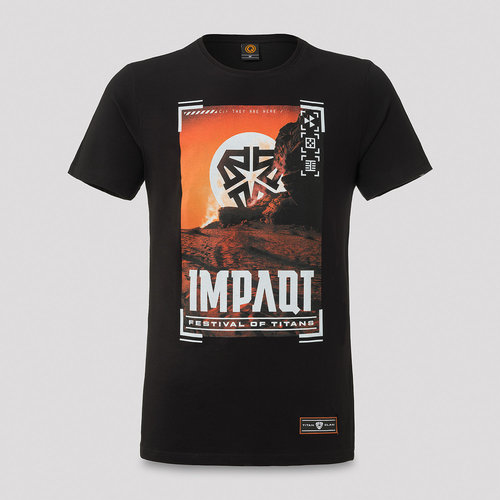 Impaqt line-up t-shirt black