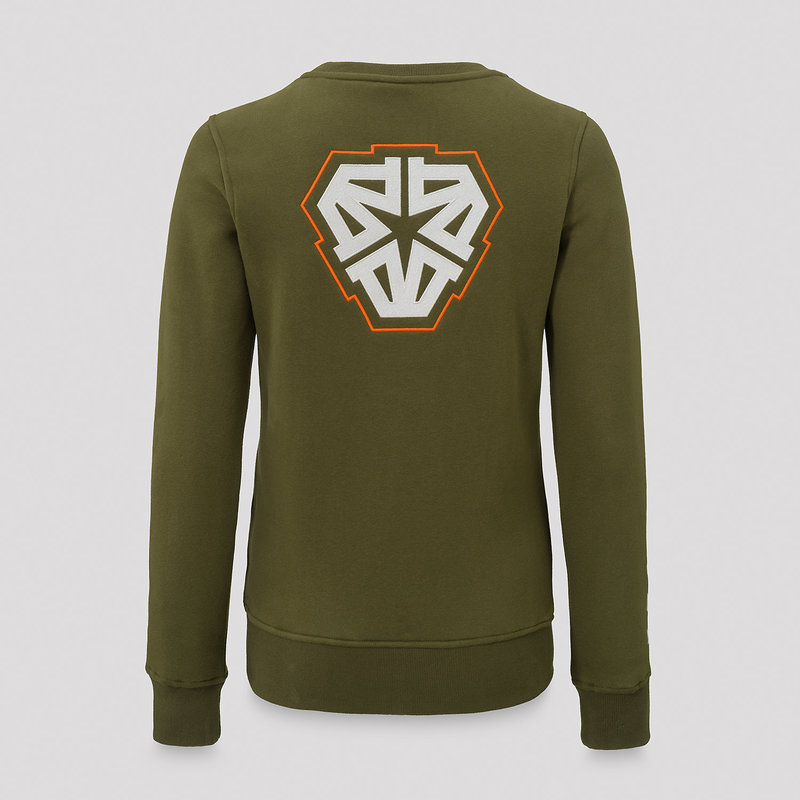 Impaqt crewneck green/orange