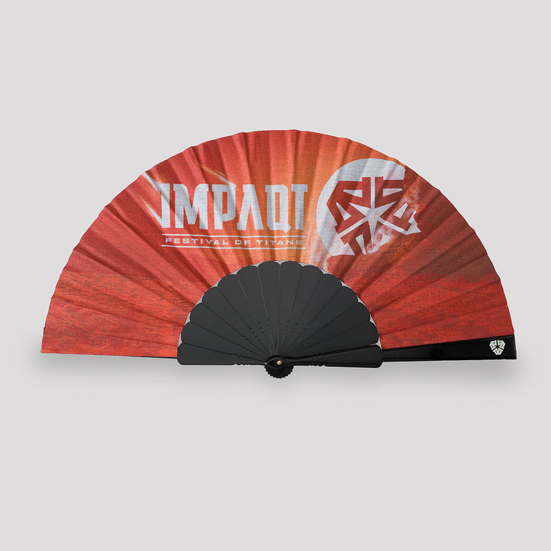Impaqt theme handfan red