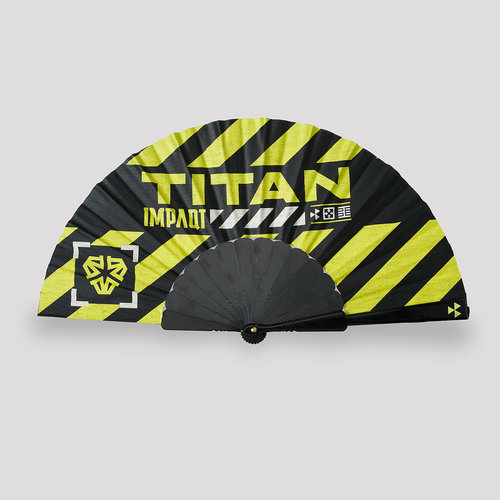 Impaqt handfan black/yellow