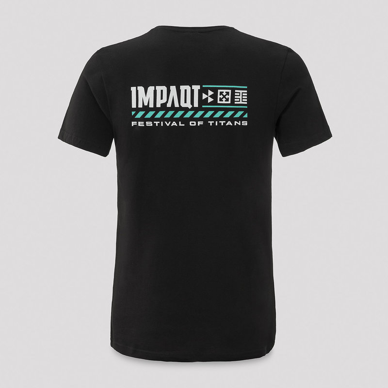 Impaqt t-shirt black/mint