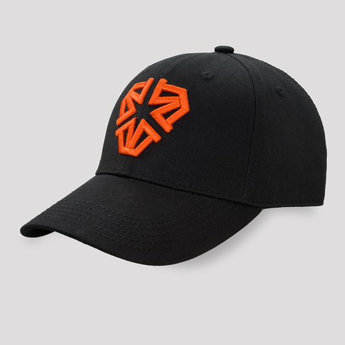Impaqt baseball cap black/orange
