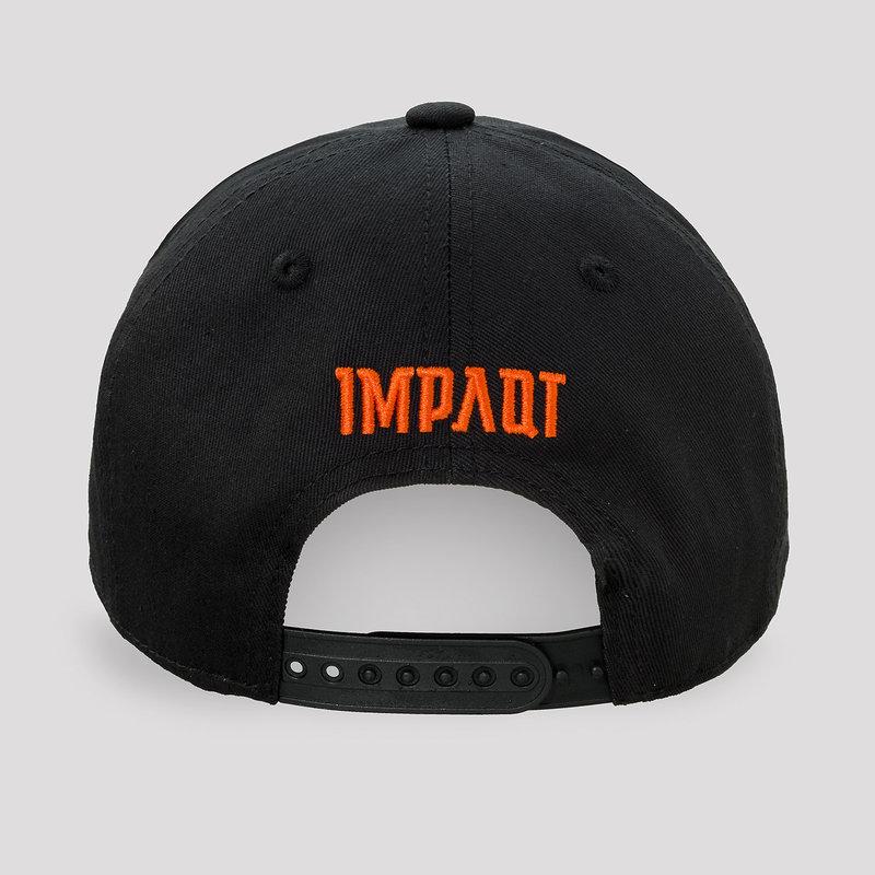 Impaqt baseball cap black/orange