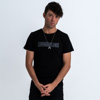 Atmozfears t-shirt black/grey