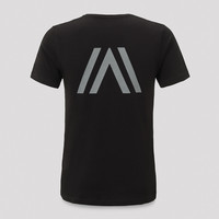 Atmozfears t-shirt black/grey