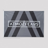 Atmozfears flag grey/white