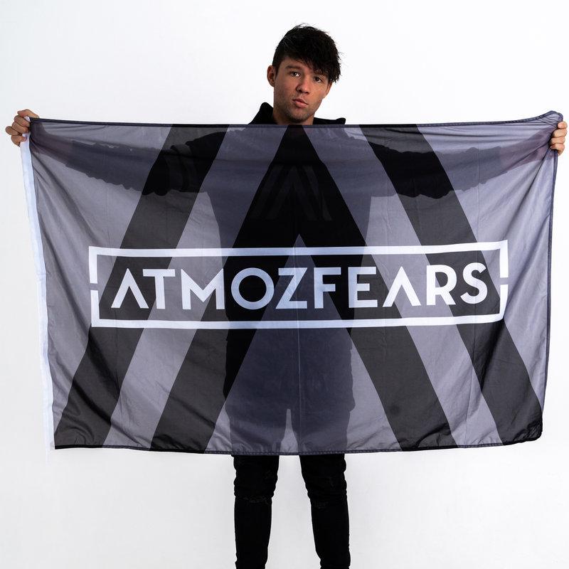 Atmozfears flag grey/white