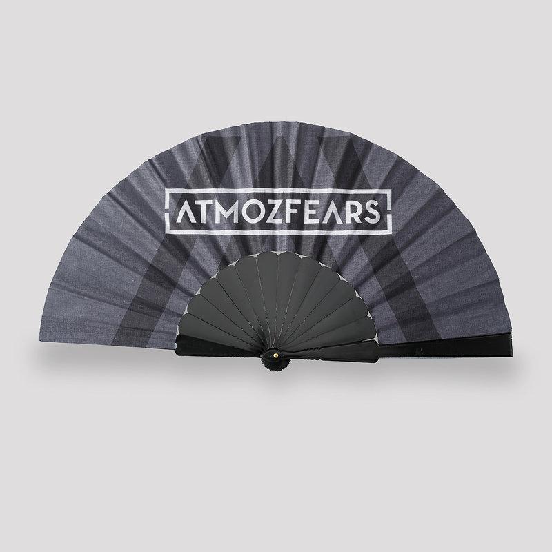 Atmozfears handfan grey/black