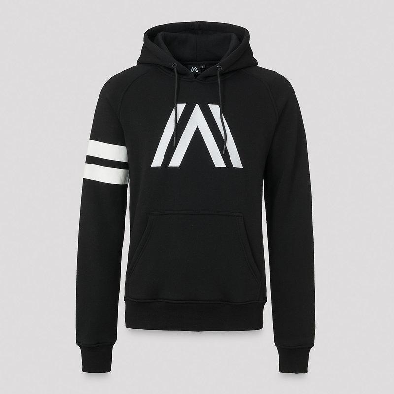 Atmozfears hoodie black/white