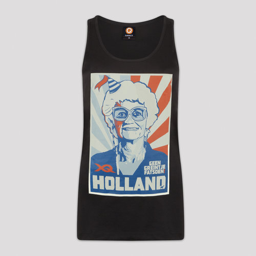 X-qlusive holland tanktop black