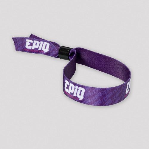 Epiq woven bracelet purple