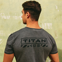 Impaqt t-shirt grey/stonewash