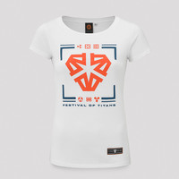 Impaqt t-shirt white/orange