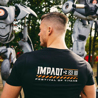 Impaqt t-shirt black/orange