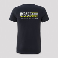 Impaqt t-shirt navy/yellow
