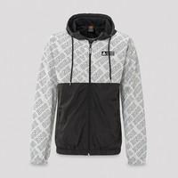 Defqon.1 wind jacket grey/pattern