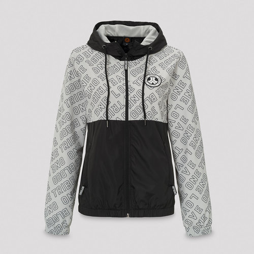 Defqon.1 wind jacket grey/pattern