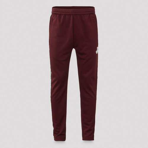 Defqon.1 track pants burgundy/white