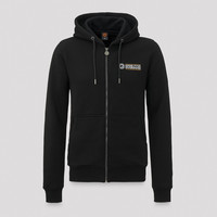 Epiq hooded zip black/white