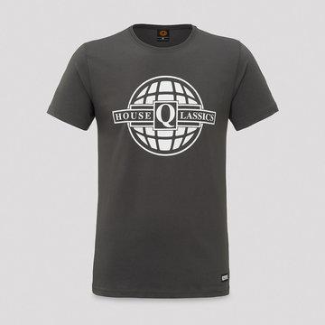 Q-DANCE House Qlassics t-shirt anthracite/white