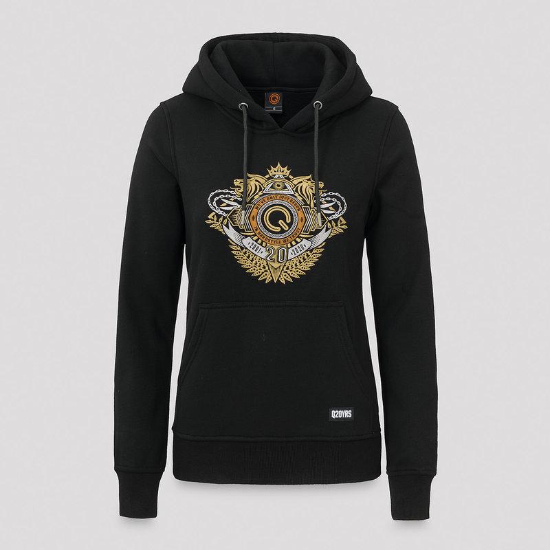 Dediqated hoodie black/gold