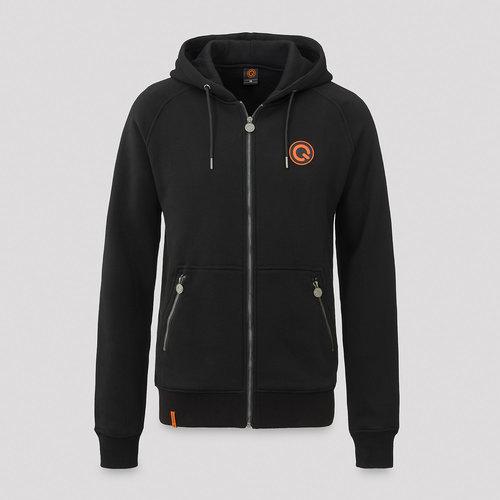 Q-Dance hooded zip black