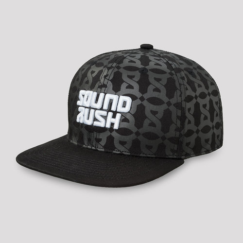 Sound Rush snapback black/pattern
