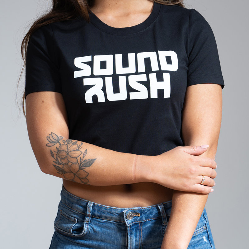 Sound Rush short tee black