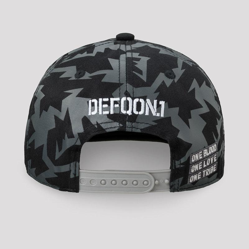 Defqon.1 snapback black/camo