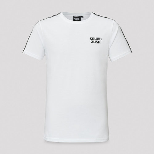 Sound Rush t-shirt white/tape