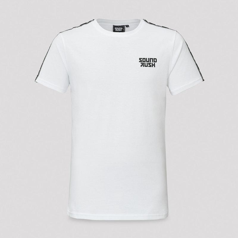 Sound Rush t-shirt white/tape