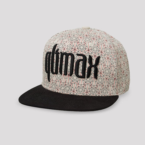 Qlimax snapback off white/black