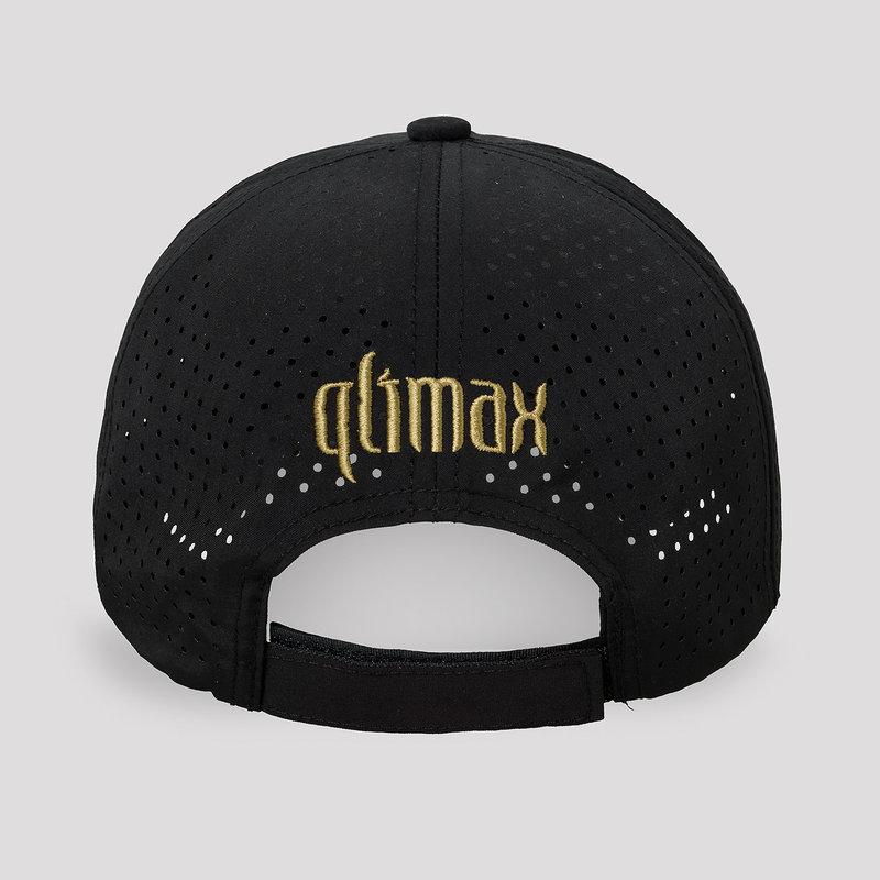 Qlimax baseball cap black/gold