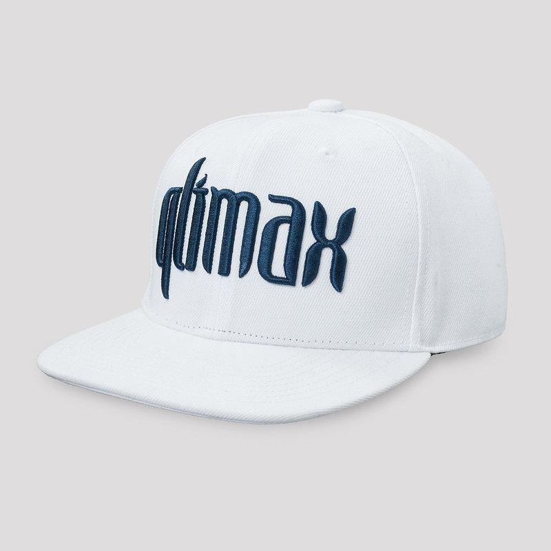 Qlimax snapback white/blue