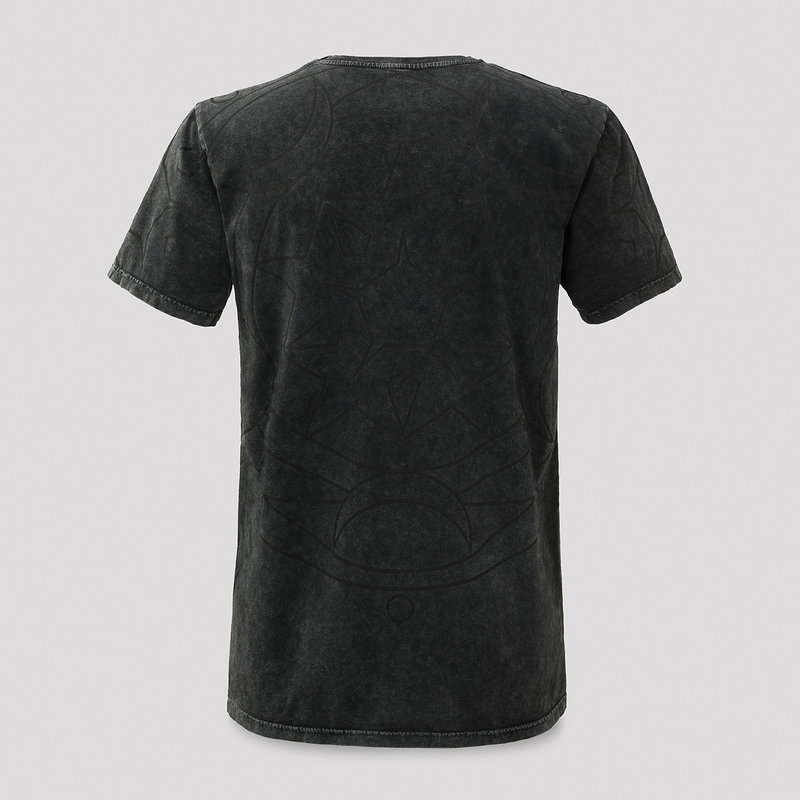 Qlimax t-shirt grey/stone wash