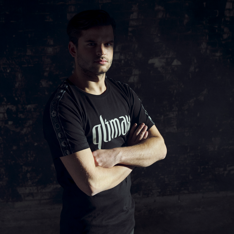 Qlimax t-shirt black/tape