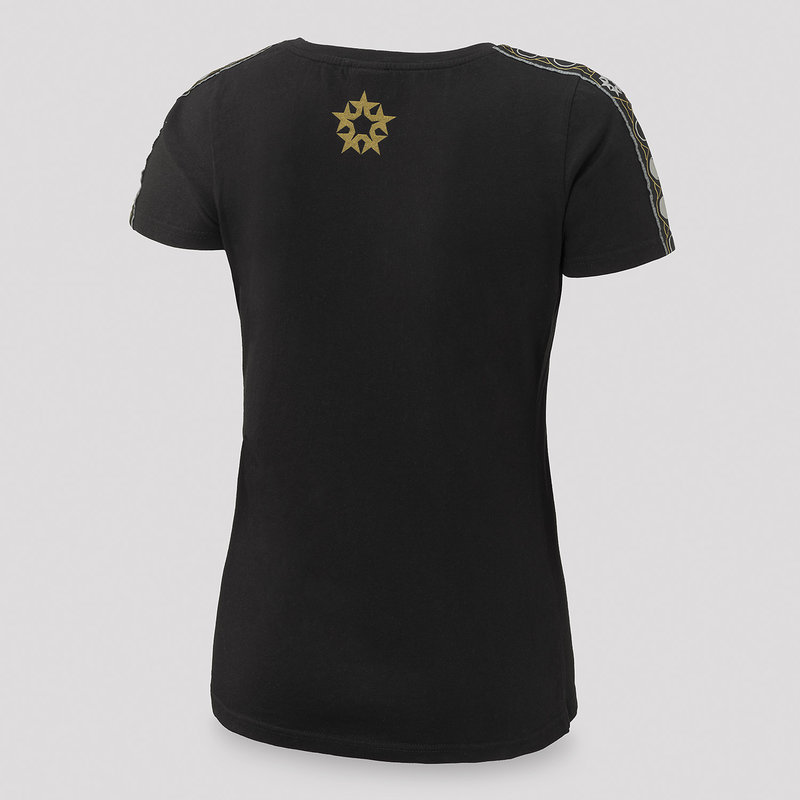 Qlimax t-shirt black/gold