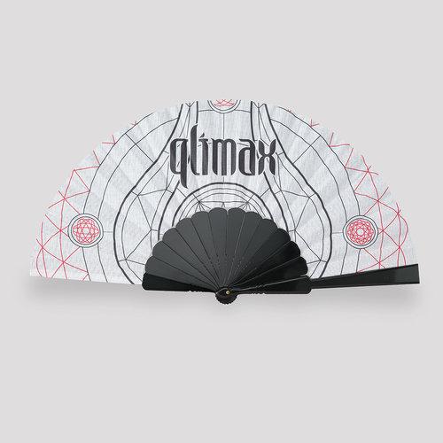 Qlimax handfan white/black