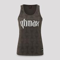Qlimax tanktop anthracite/white