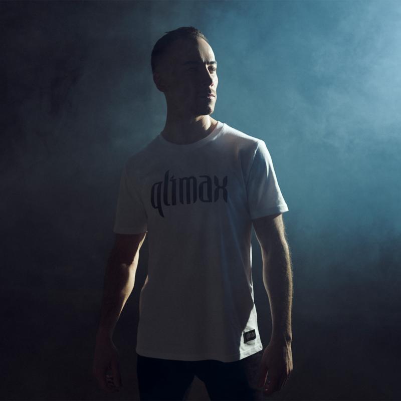 Qlimax t-shirt white/black