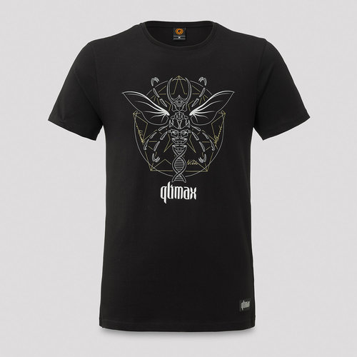 Qlimax t-shirt black/white