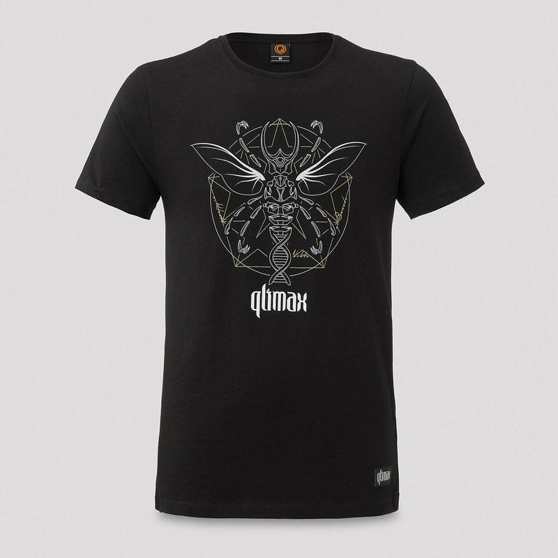 Qlimax t-shirt black/white
