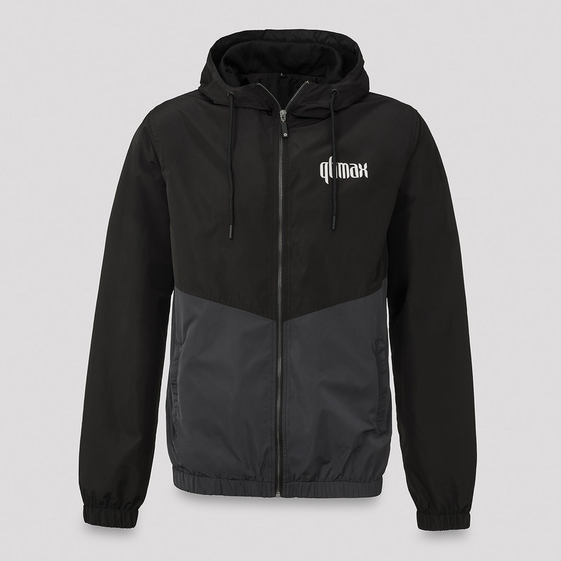 Qlimax wind jacket black/grey