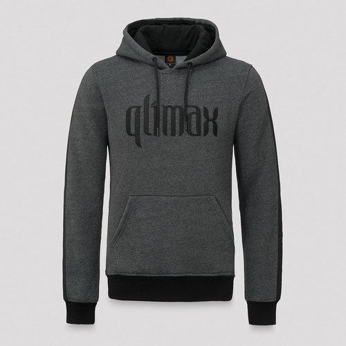 Qlimax hoodie grey/black