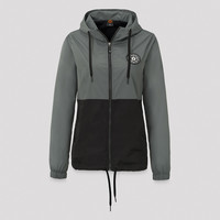 Qlimax wind jacket grey/black