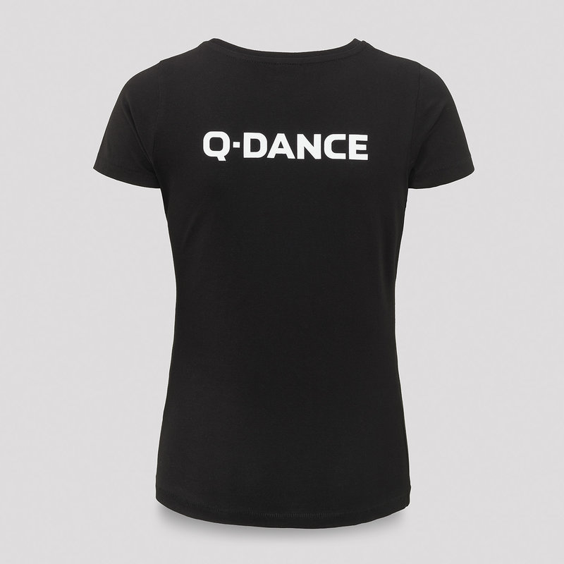Q-dance t-shirt black